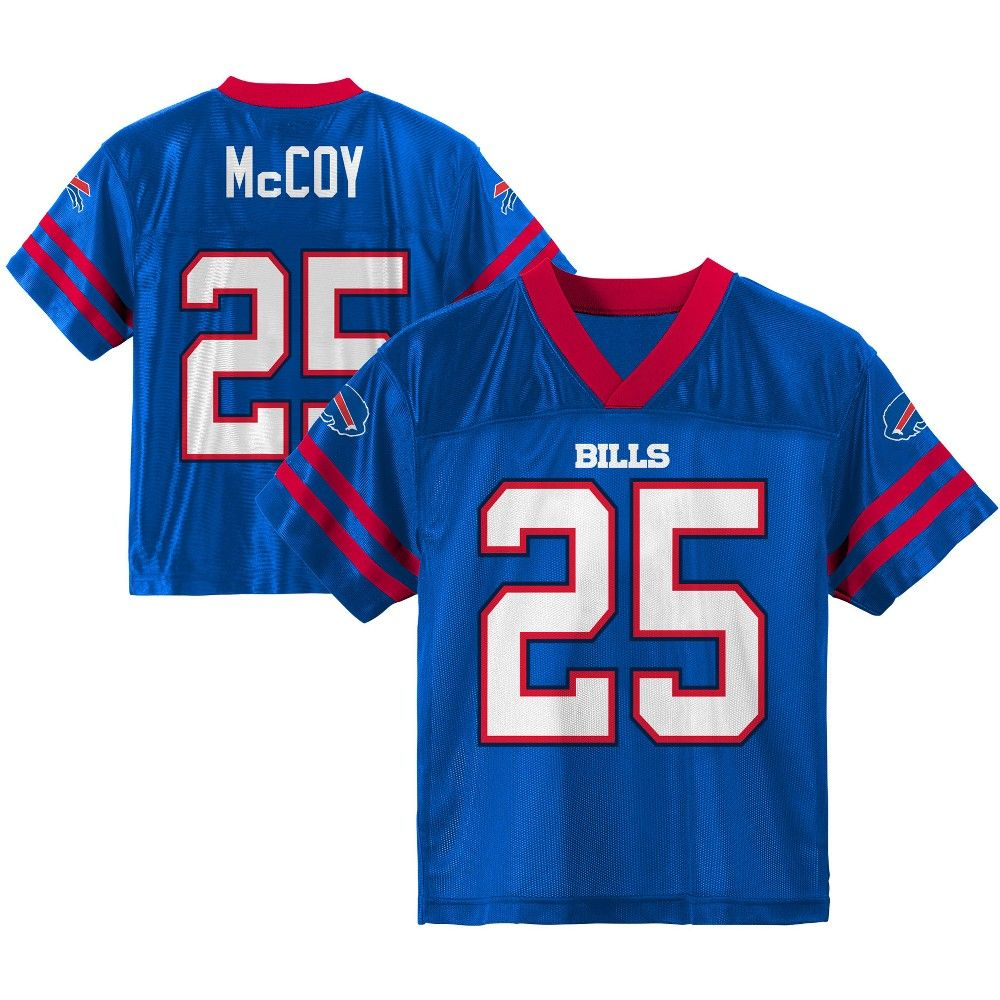 Buffalo Bills Toddler Player Jersey 2T