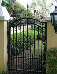 Entrance Doors, Wrought Iron Custom Design Door, Metal · Wrought Iron  Garden GatesFence ...