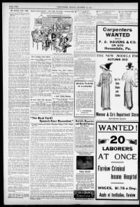 SEARCH America's HISTORIC NEWSPAPERS pages from 1836-1922 or use the U.S. Newspaper Directory to find information about American newspapers published between 1690-present.  Chronicling America (The Library of Congress & National Endowment for the Humanities). http://chroniclingamerica.loc.gov/