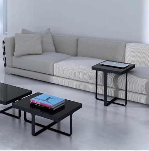 Mesa para comer en el sof medida ajustable mesas de - Mesas para delante del sofa ...