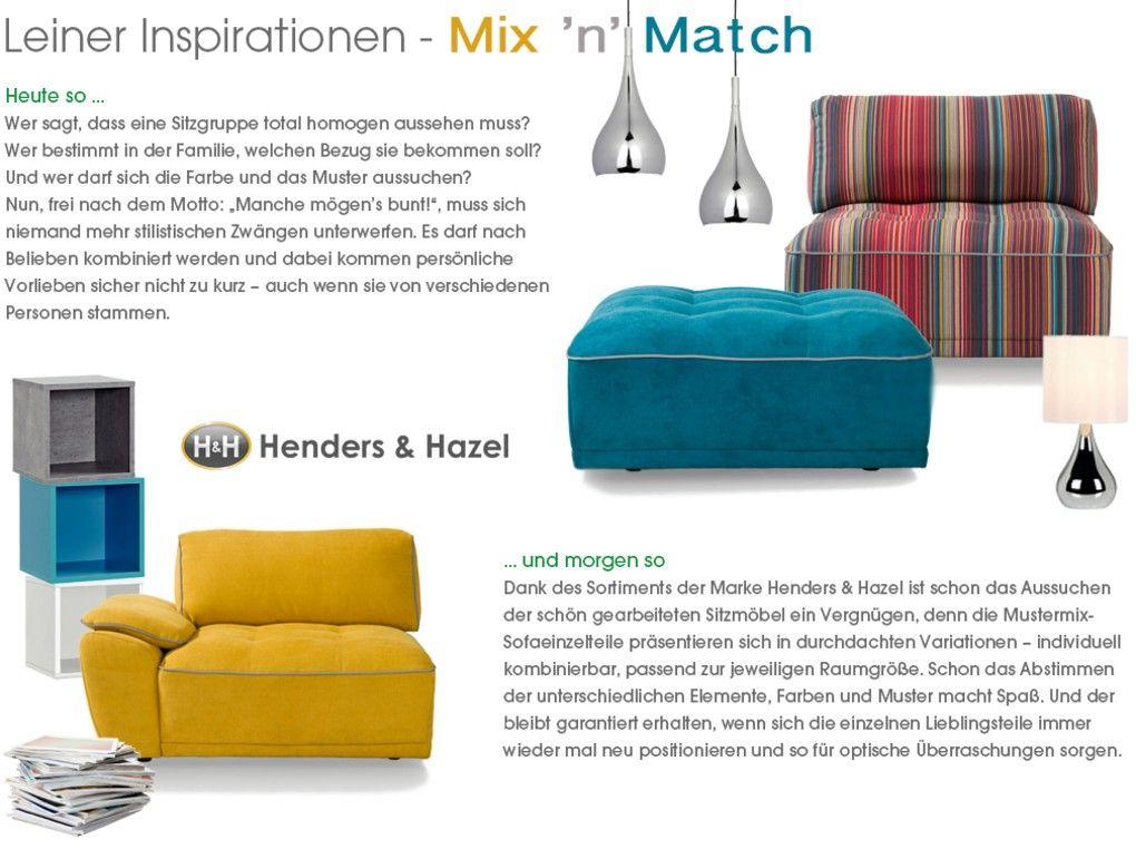 Leiner Insiration Mix N Match Sessel Sofas Pinterest
