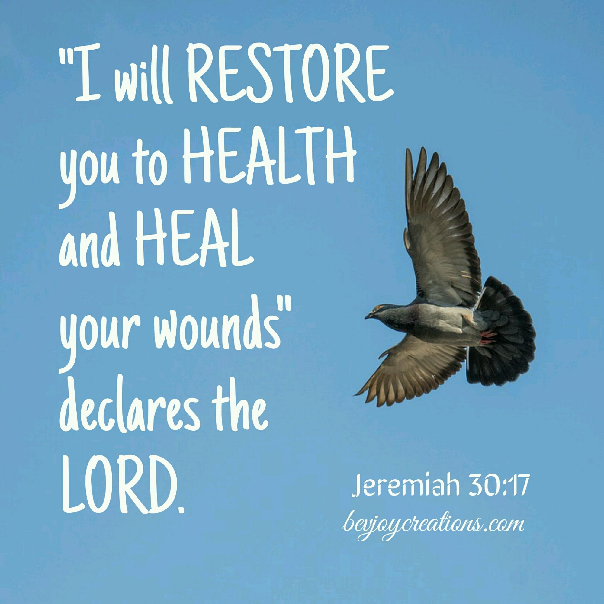 Restore Health Healing Scriptures God Heals Prayers For Strength And Healing