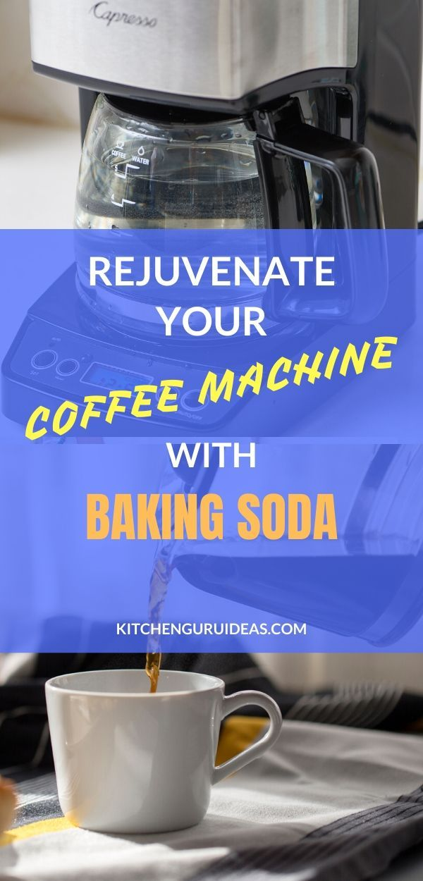Using Baking Soda To Clean Your Coffee Maker