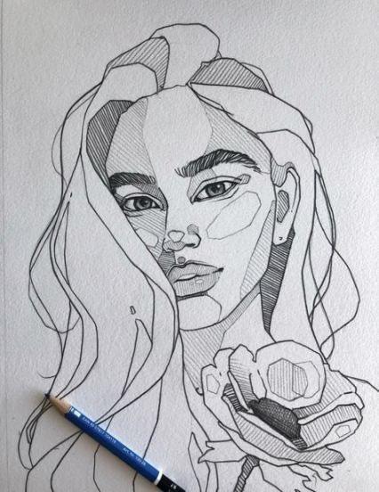 41 Ideen, die Porträt-Bleistiftgrafiken zeichnen - # | Citazioni Italiane ?