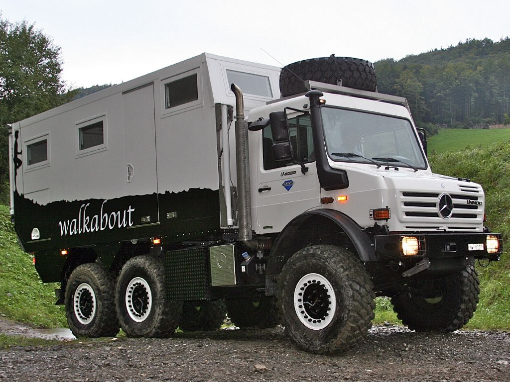unimog u4000 expedition vehicle 4x4 offroad camper truck autos post. Black Bedroom Furniture Sets. Home Design Ideas
