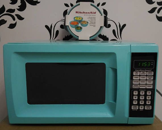 Turquoise Microwave Ovens Provencalvoice Com