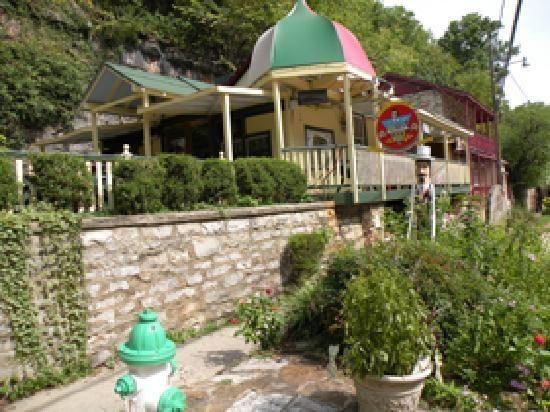 Eureka Springs Ar Cafe Luigi Patio Restaurant Arkansas Opiniones