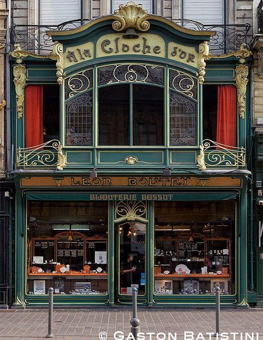 Art Nouveau Shop A La Cloche D Or Rue Des Manneliers Lille France Flickr Com Google Search Facade Restaurant Facades De Magasins Art Nouveau