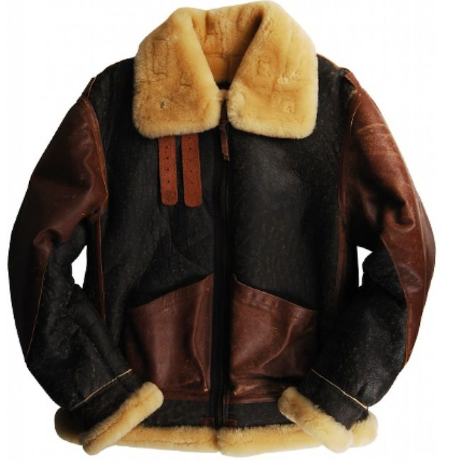 Alpha Industries B-3 Sheepskin Bomber Flight Jacket #fashion ...