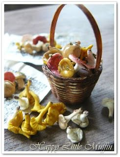 Happy Little Muffin: Mushrooms / Sienet