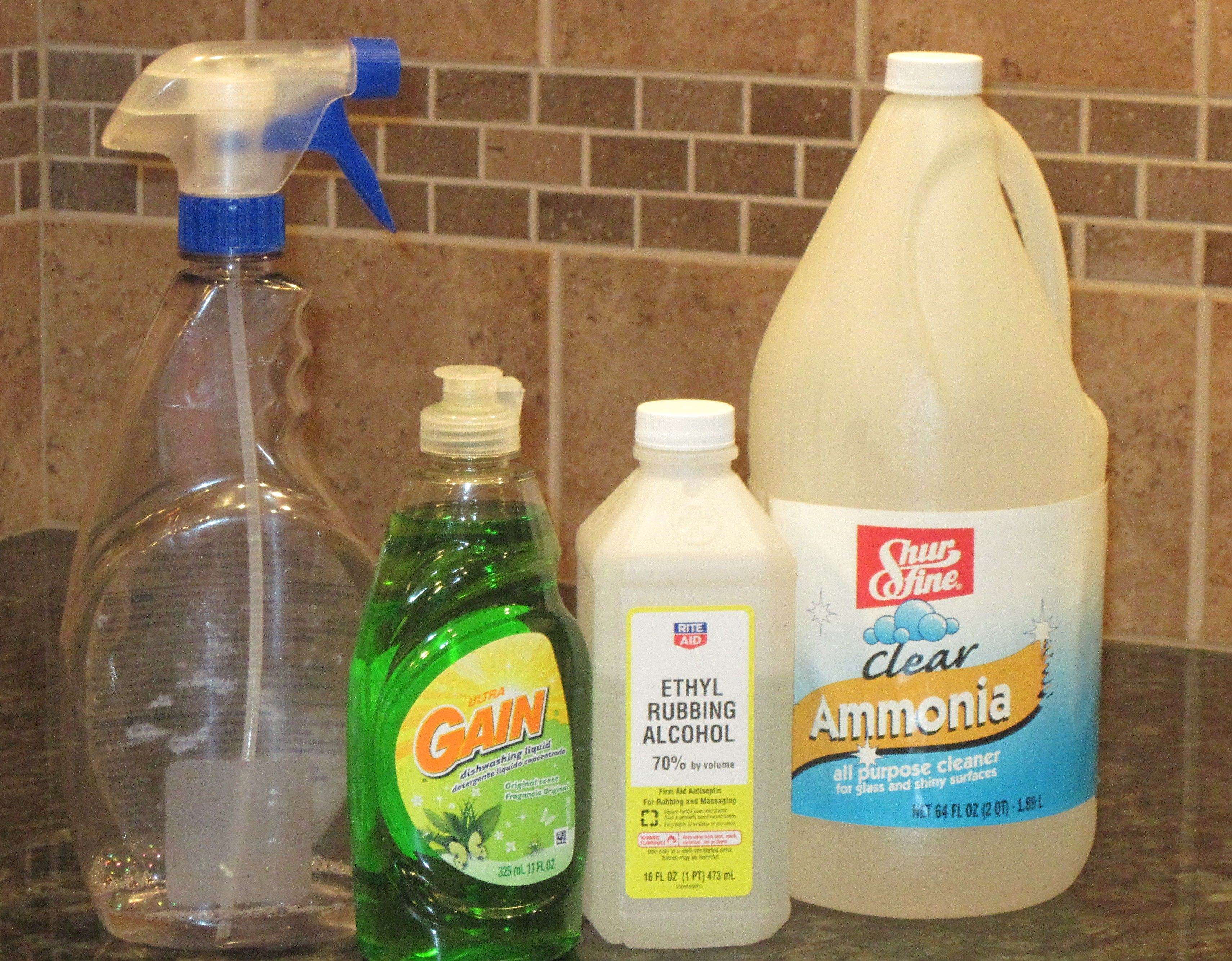 Streak Free Glass Cleaner Recipe Cleaning Recipes Green