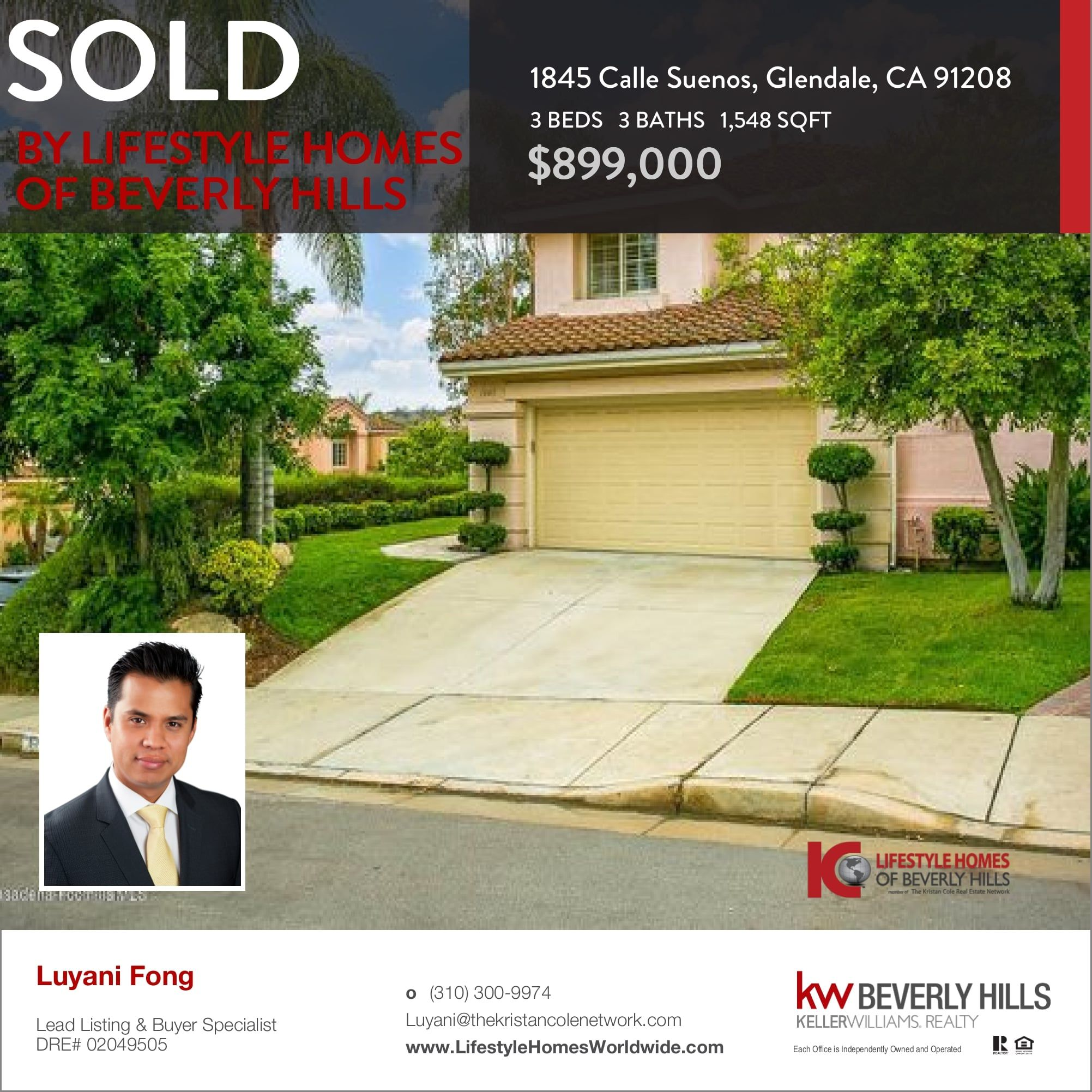 We would like to congratulate our clients the buyers of