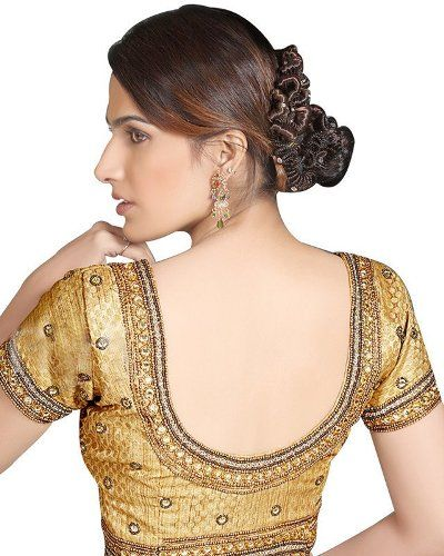 Photo of 30 Well Suited Bridal Blouse Neck Designs for Wedding Sarees