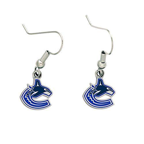 Vancouver Canucks Dangle Earrings