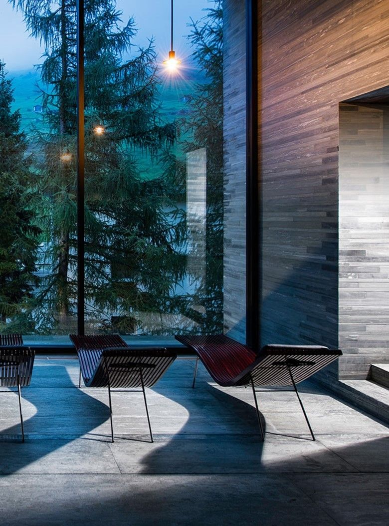 7132 hotel exceptional hotel and therme vals boutique for Design hotel vals