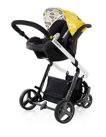 Oaker Print Car Seat Mode Cosatto, Yellow Car Seat And Stroller