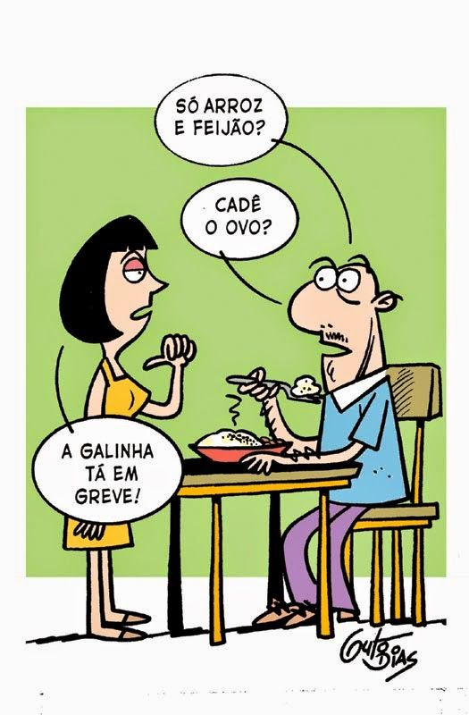 Guto Dias Cartuns: Greve!