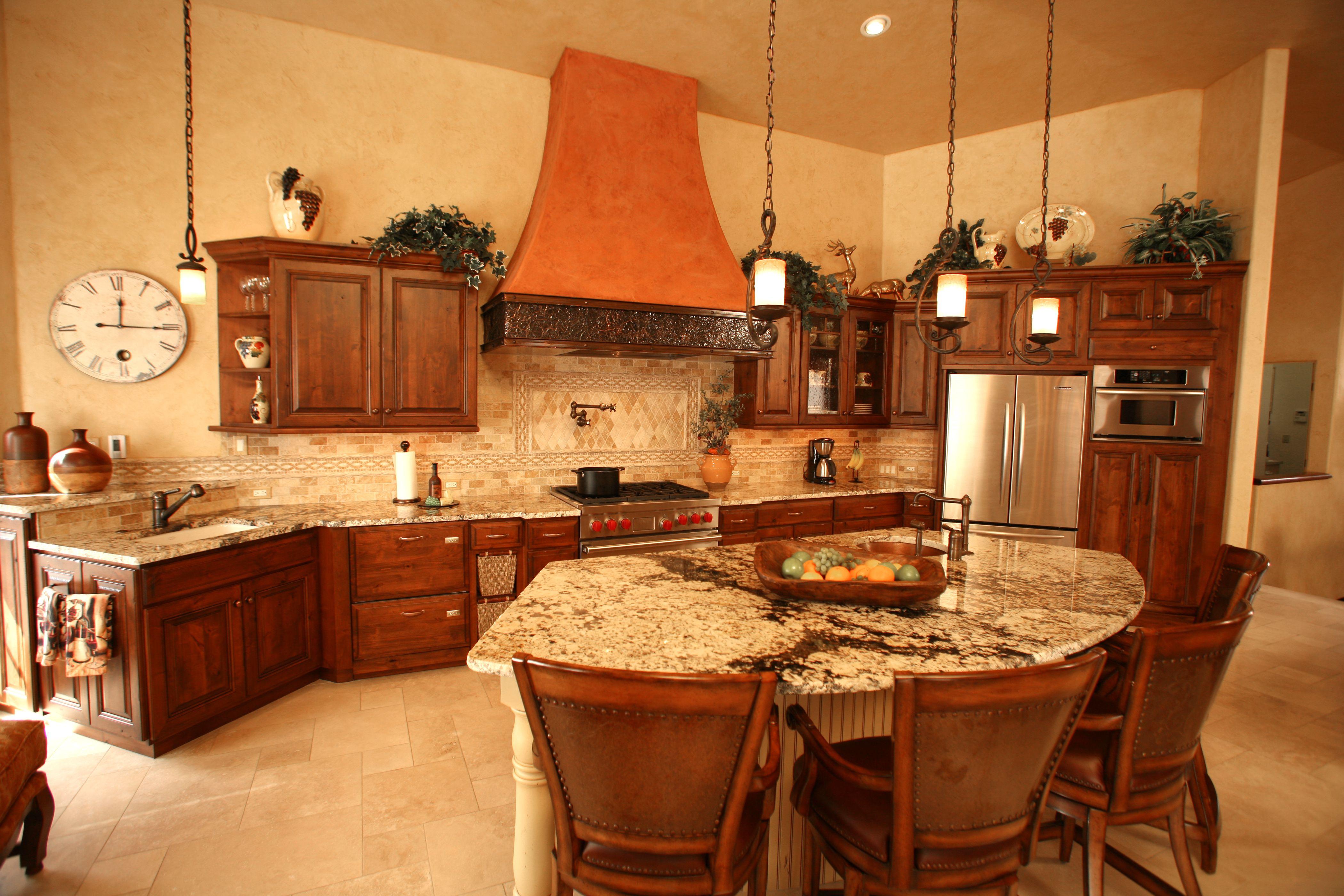 Home Speasinteriordesign Tuscan Kitchen Kitchen Design Decor Copper Kitchen Decor