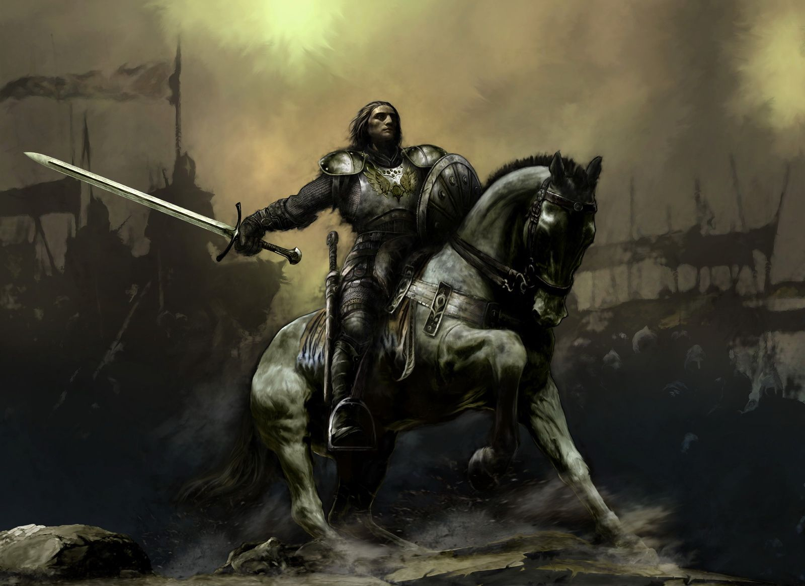 Battle warrior Warriors wallpaper, Fantasy, Fantasy art
