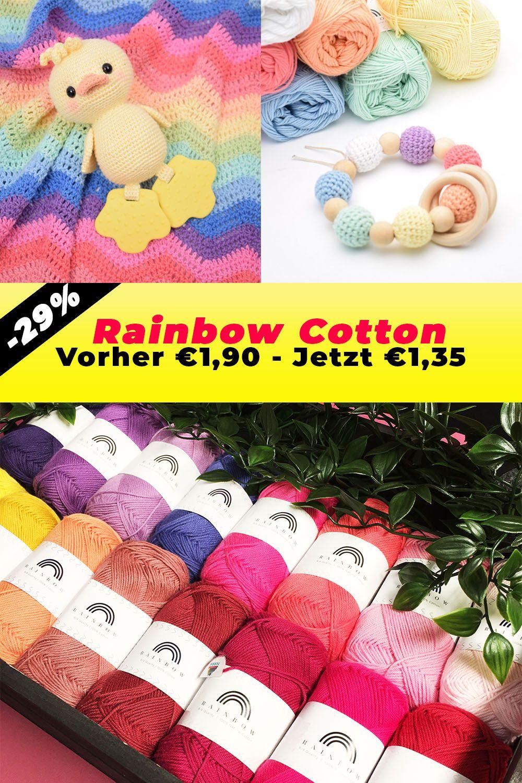 Photo of 29% Rabatt auf Rainbow Cotton