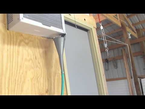 Coolbot game walk in cooler in barn cooling pinterest for Build your own walk in beer cooler