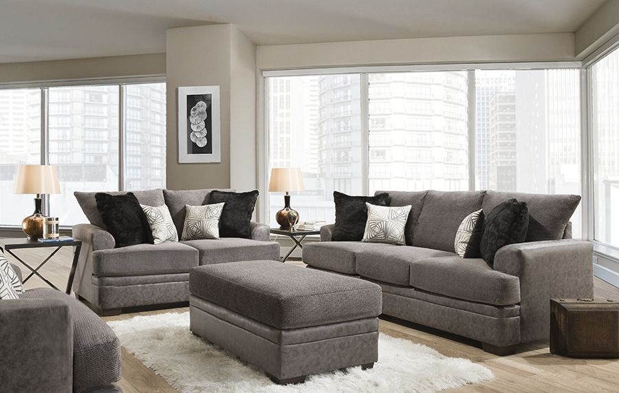 American Furniture Akan Graphite Sofa