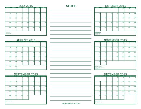 Excel 2013 Monday Through Sunday Calendar Template Craft