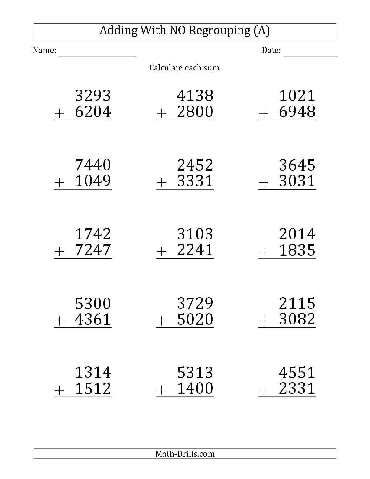 10 Periodic Ordering Fractions Worksheet 4th Grade Di