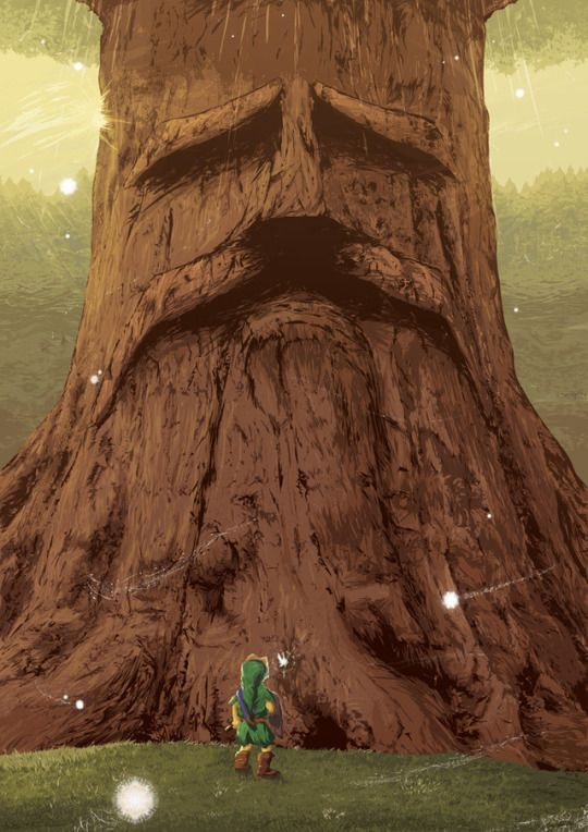 Legend of Zelda Artwork made by Orioto
