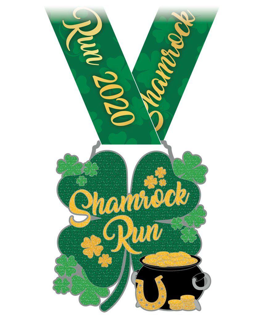 The Shamrock 5k Virtual Run In 2020 Virtual Run Running Shamrock