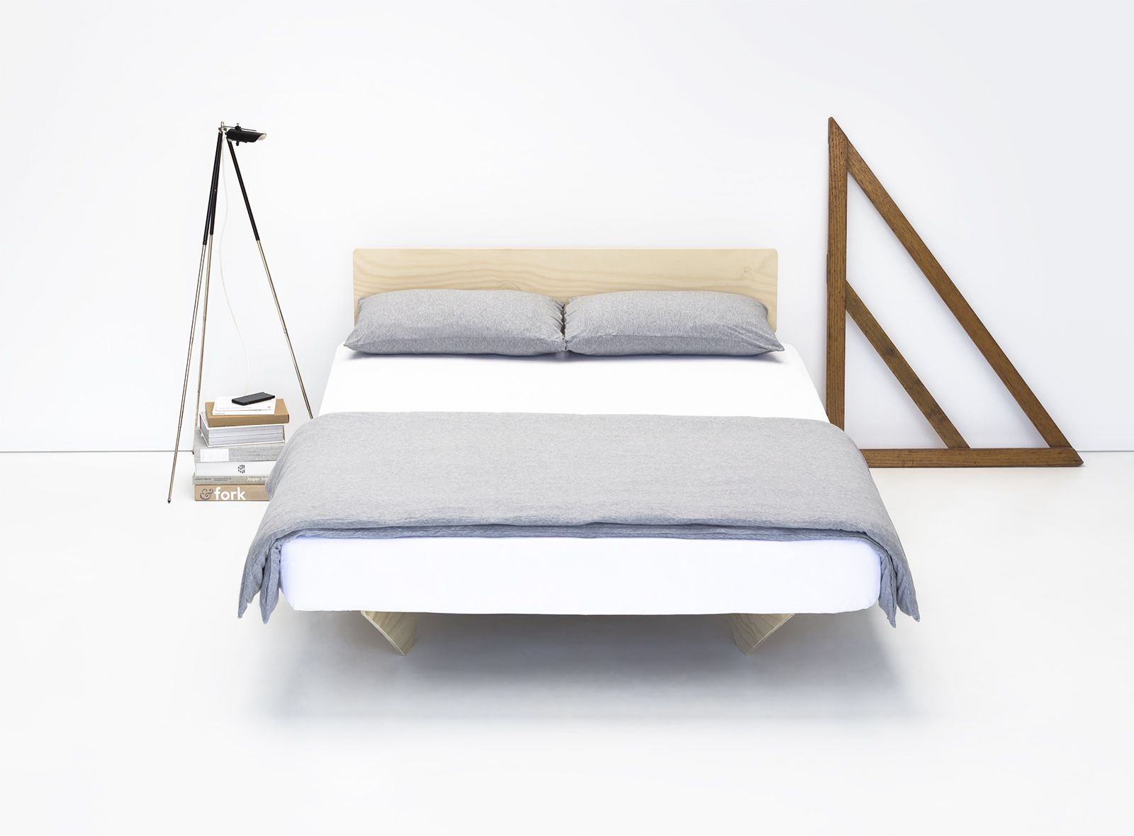 Object Utility Flat Pack Bed Bed Furniture Simple Bed