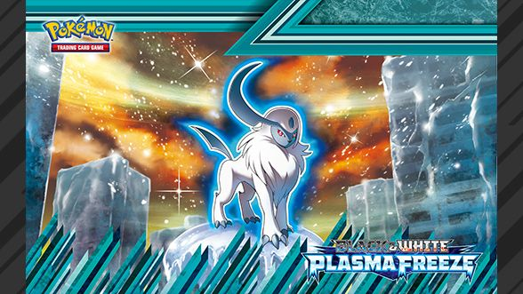 Pokemon TCG Black White Plasma Freeze Absol Wallpaper