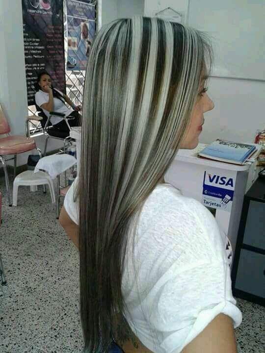 Mechas platinadas c mo hacer y matizar paso a paso en casa mechas pinterest hair - Rubio platino en casa ...