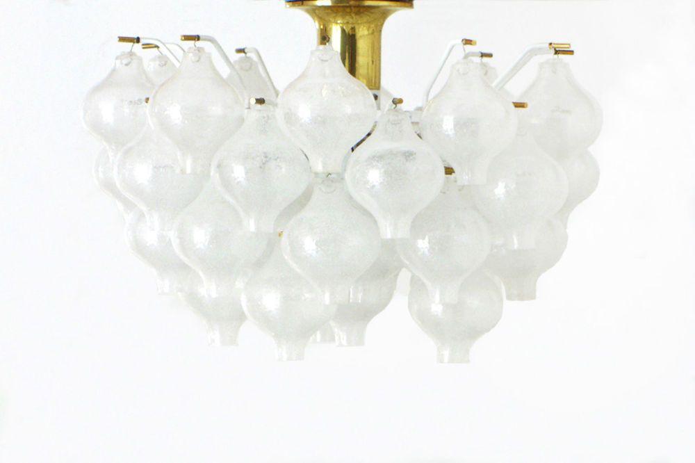 Lampe J T Kalmar Tulipan 1968 Chandelier Pendant Leuchter 50er 60er Design Lampen Kalmar Ebay