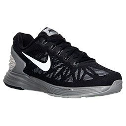 Women's Nike Lunarglide 6 Flash Running Shoes| Finish Line | Black/Reflect Silver