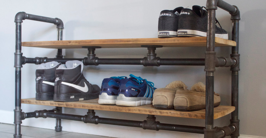 15 Smart Diy Shoe Rack Ideas For Your Home Shoe Storage Small