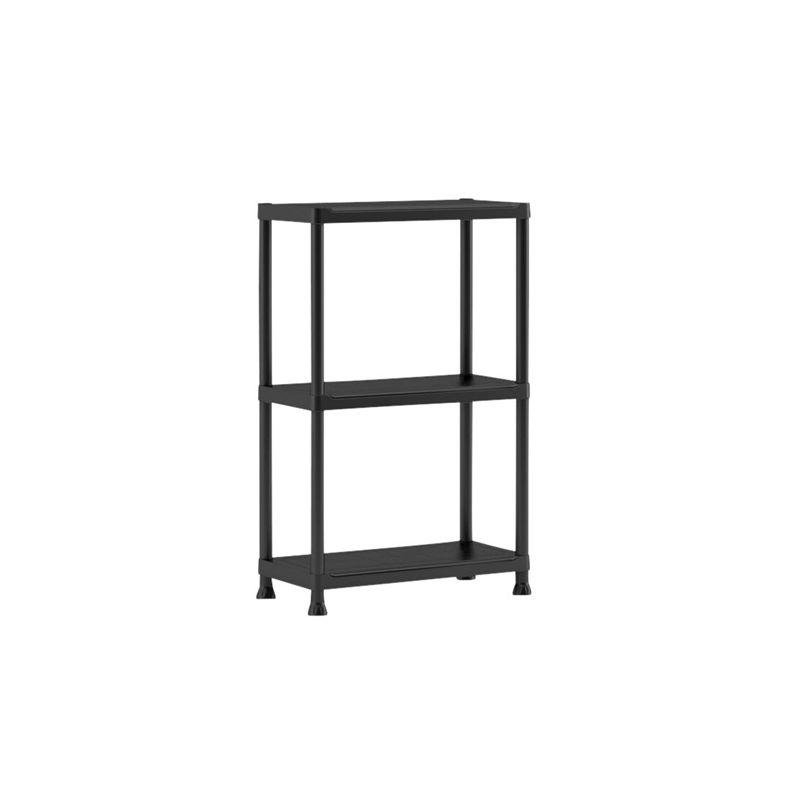Keter 3 Tier Plus Shelving Unit Plastic Shelves Shelving Unit