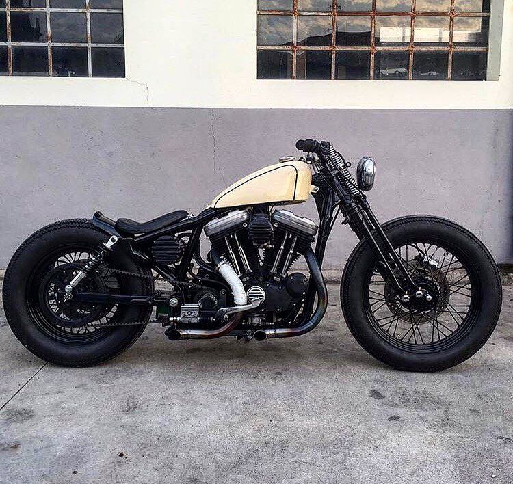 Bobber Bobberbrothers motorcycle Harley custom customs diy cafe ...