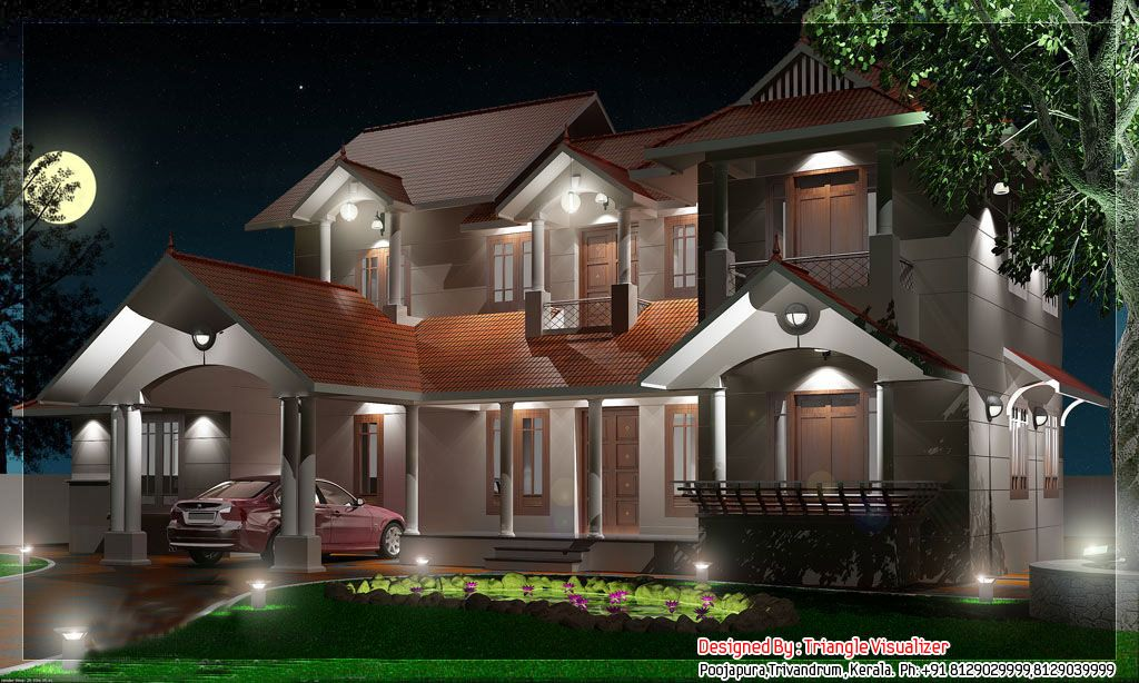 beautiful kerala home designjpg 1024614 Elevation Pinterest
