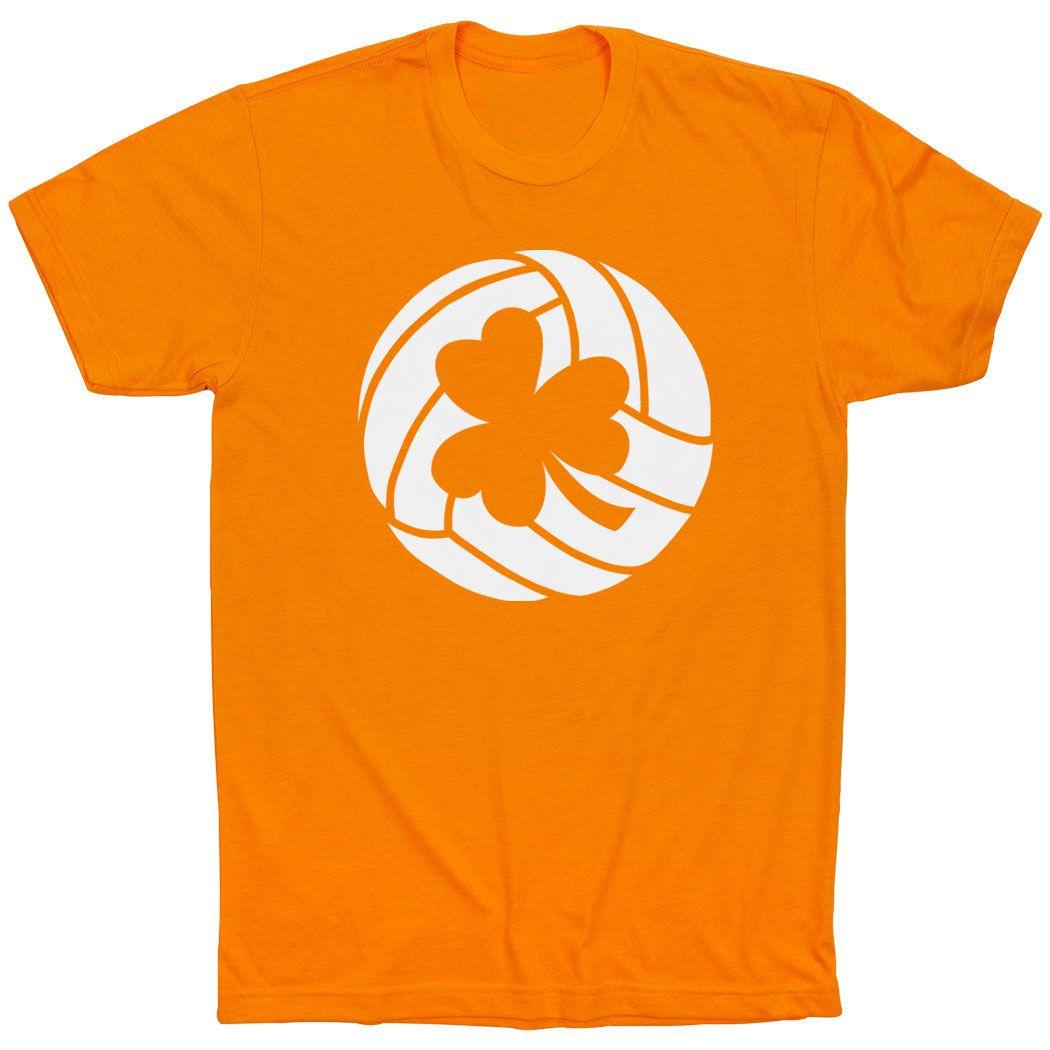 Volleyball Youth Short Sleeve T Shirt Shamrock Volleyball Orange Youth S Volleyball Yo Volleyball Shirts Volleyball Tshirts Volleyball Shorts