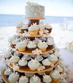 Wedding Cupcakes Beach Theme So Cute