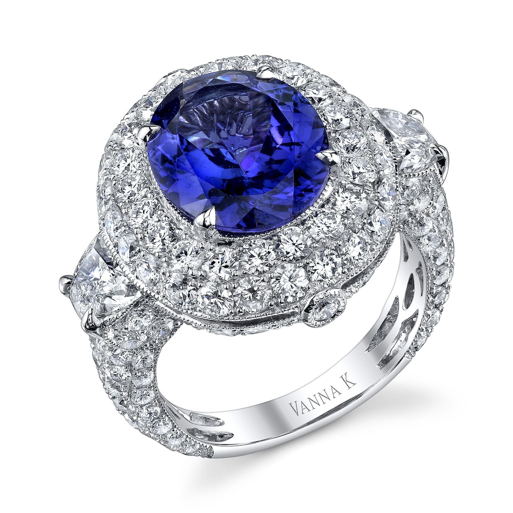 Kamara Diamond Bridal Ring Style 18RO762TD Coloured
