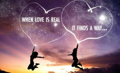 When love is real...