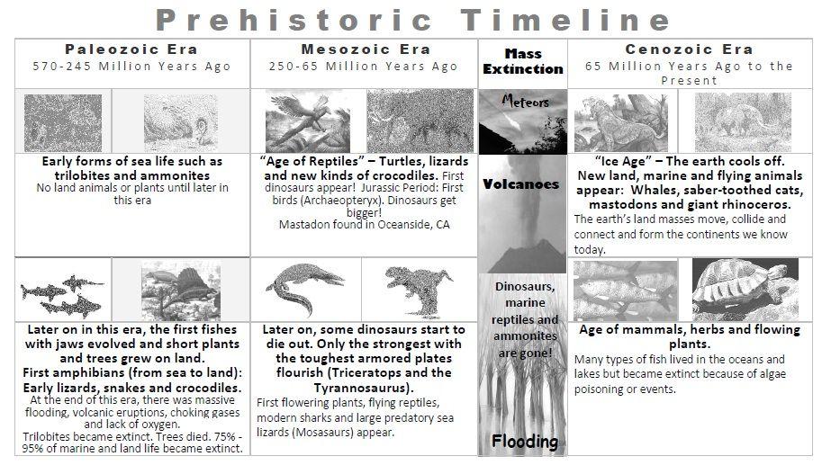 prehistory timeline Pre History \ Evolution Pinterest - sample historical timeline