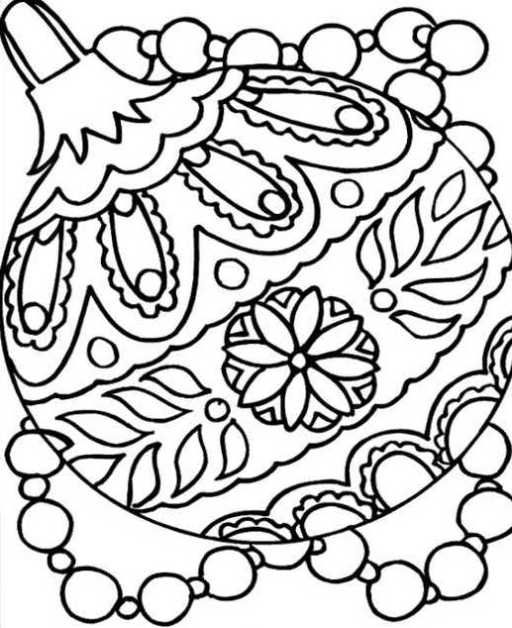 Http Printablecolouringpages Co Uk Free Christmas Coloring Pages Christmas Coloring Sheets Christmas Ornament Coloring Page