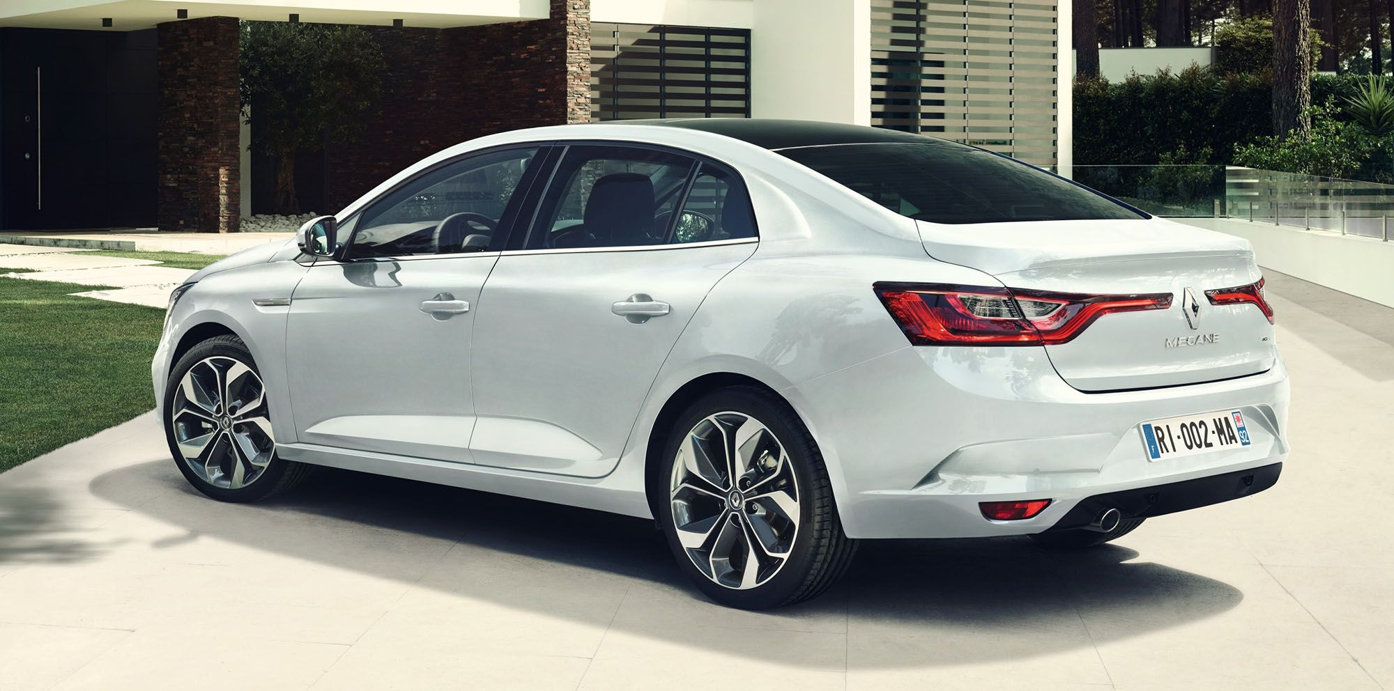 2017 Renault Megane Saloon Rear View With Images Megane