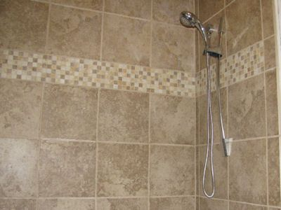 Attirant Guest Bathroom 12 X 12 Tan Tile