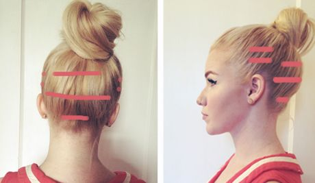 Diy Hair Style Clip In Extensions Frisyrer