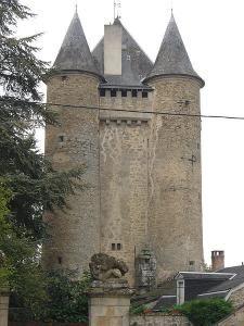 Le château de Jouillat. La Creuse. Limousin