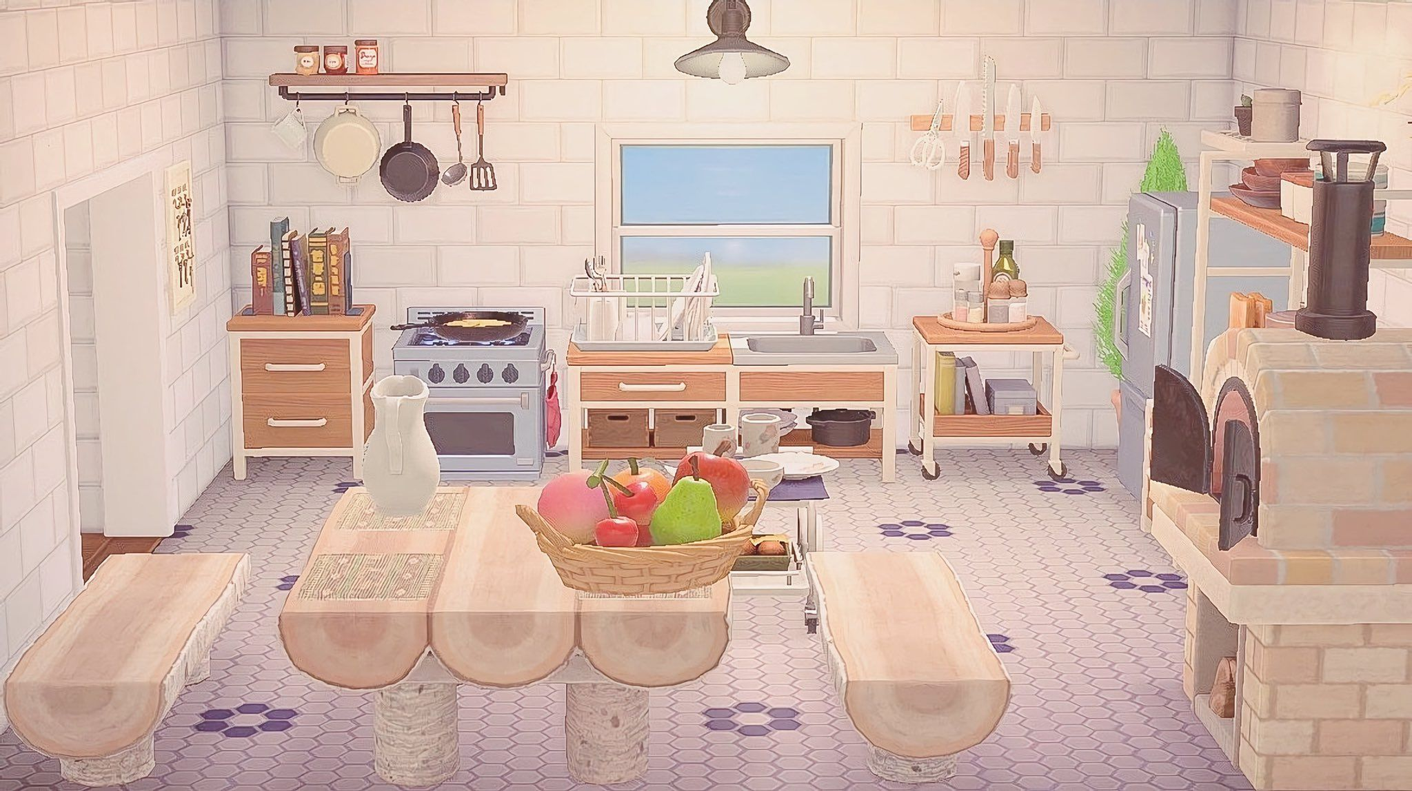 Kitchen Island Counter Animal Crossing New Horizons ... on Animal Crossing Kitchen Counter  id=17970